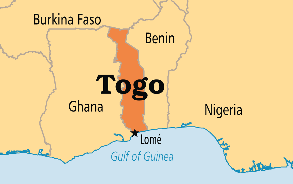 Shipping cargo to Lome, Togo