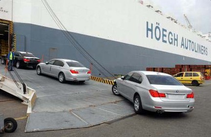 RoRo Car Shippin Services from Baltimore MD